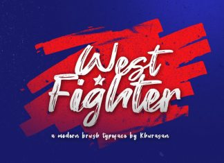 West Fighter Font