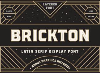 Brickton Font