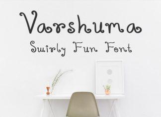 Varshuma Font