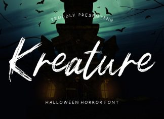 Kreature Halloween Horror Font