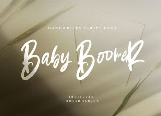 Baby boomer Font