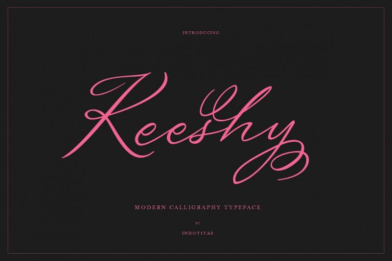 Keeshy Font
