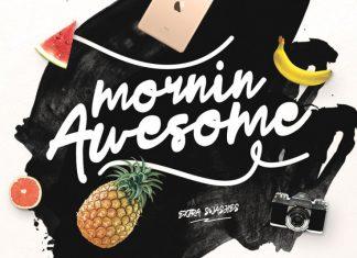 Mornin Awesome Font