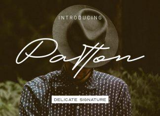 Patton Font