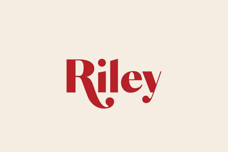 Riley - A Modern Font