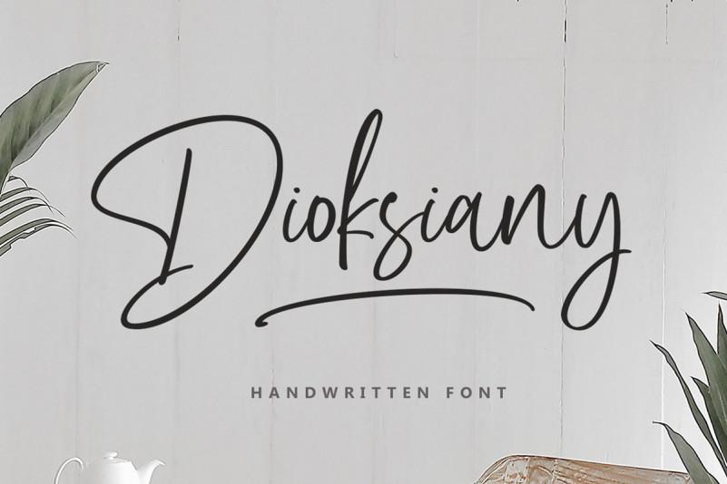 Dioksiany Font