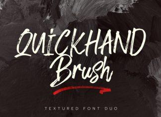 Quickhand Font