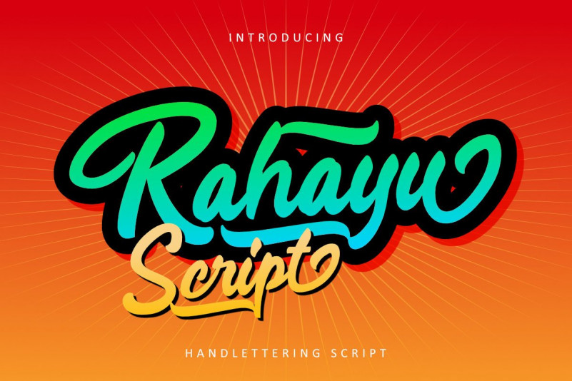 Rahayu Font