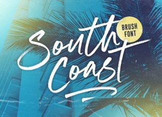 South Coast Font