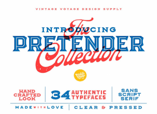 The Pretender Collection Font