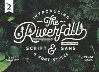Riverfall SemiRounded Font