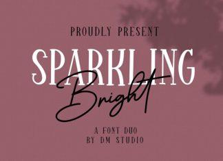 Sparkling Bright - Beauty Font