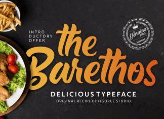 The Barethos Font