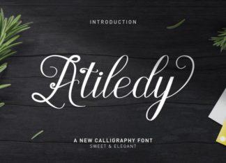 Atiledy Font