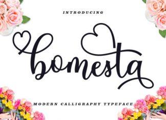 Bomesta Font