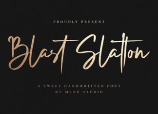 Blast Slatton Font
