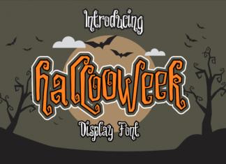 Hallooweek Font