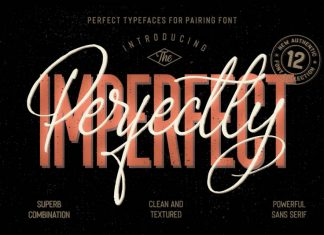 Perfectly Imperfect Collection Font