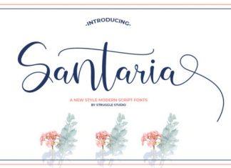 Santaria Font