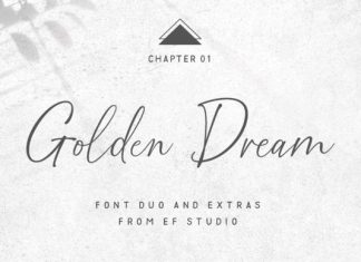Golden Dream Duo Font