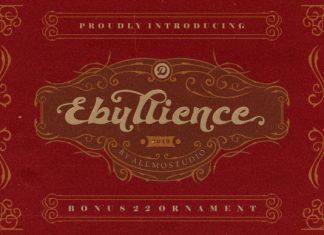Ebullience Font