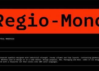 Regio Mono Font