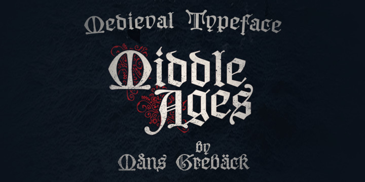 Middle Ages Font