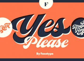 Yes Script Font