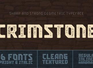 Crimstone Font