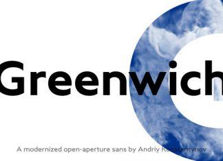 Greenwich Font