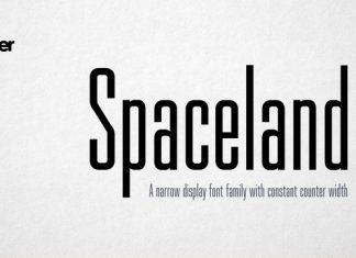 Spaceland Font