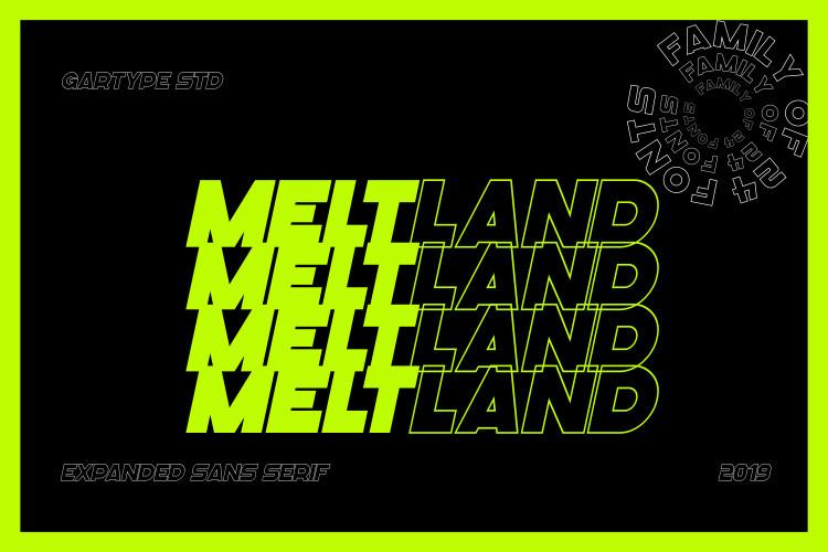 Meltland Font