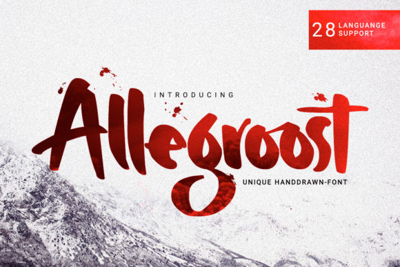 Allegroost Font