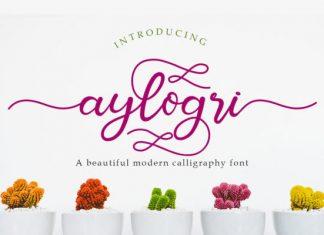 Aylogri Font