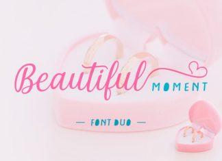 Beautiful Moment Font