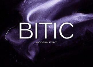 Bitic Font