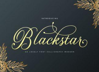 Blackstar Font