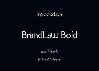 Brandlaw Bold Font