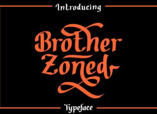 Brother Zoned Font