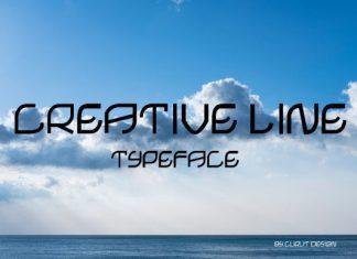 Creative Line Font