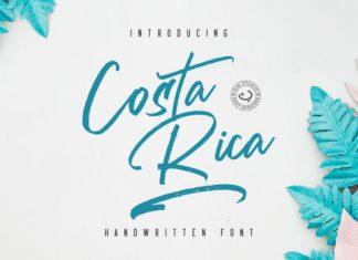 Costa Rica Font