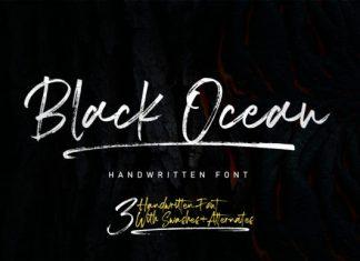 Black Ocean Font