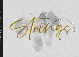Strings Font