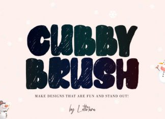Cubby Crush Font