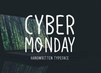 Cyber Monday Font