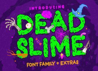 Dead Slime Font