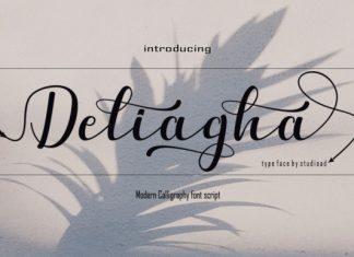 Deliagha Font