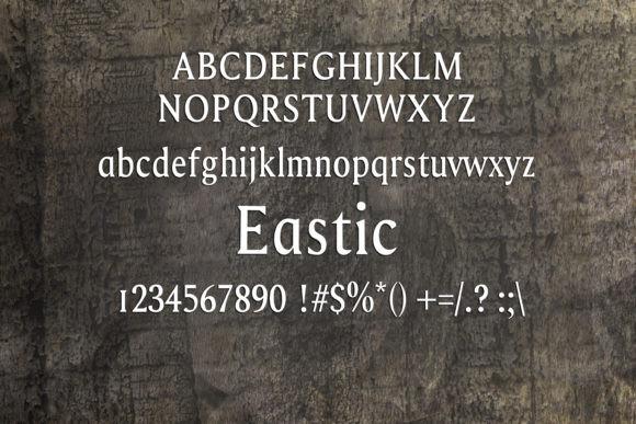 Eastic Font