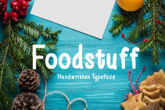 Foodstuff Font