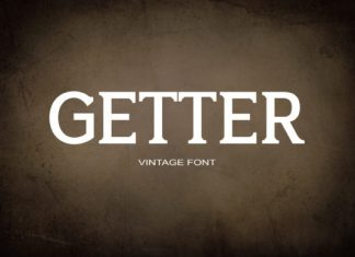 Getter Font